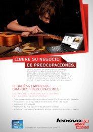Las soluciones de Lenovo para pequeñas empresas folletos