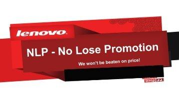 5% - Lenovo Partner Network
