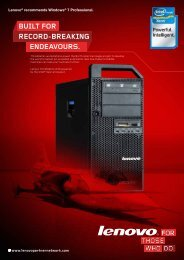 ThinkStation - Lenovo Partner Network