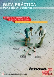 guía práctica - Lenovo Partner Network
