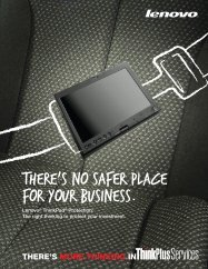 there's no safer place for your business. - Lenovo Partner Network