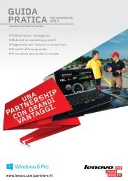 Guida pratica per i rivenditori - Lenovo Partner Network