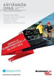 kÄYtÄnnÖn - Lenovo Partner Network