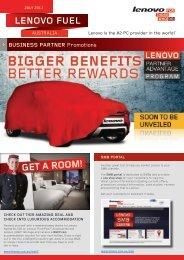 Fuel July 2013 - Lenovo Partner Network