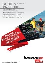 Guide pratique pour les revendeurs - Lenovo Partner Network