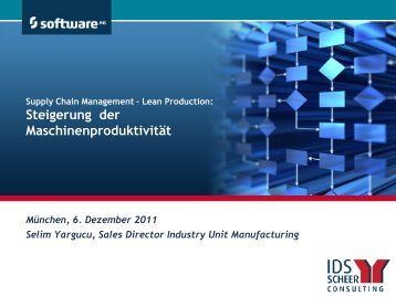 Supply Chain Management - Lean Production - partnering