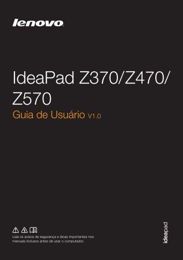 Linha IdeaPad Série Z - Lenovo Partner Network