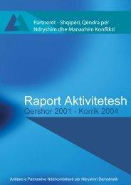 Raport 2001-2004 - Partners Albania