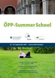 ÖPP-Summer School - ÖPP Deutschland AG