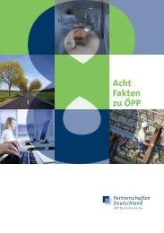 Acht Fakten zu ÖPP - Bundesverband deutscher Banken