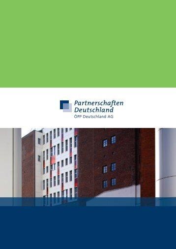 Wir wollen Öffentlich-Private Kooperationen fördern Y - ÖPP ...