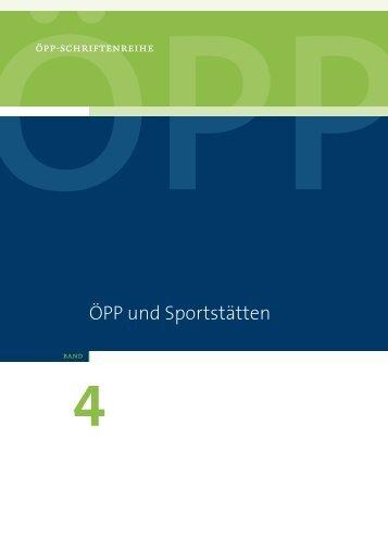 ÖPP und Sportstätten - ÖPP Deutschland AG