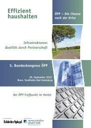5. Bundeskongress ÖPP - ÖPP Deutschland AG