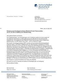 Berlin, den 22. Mai 2013 Einladung zum Grundlagenworkshop ...