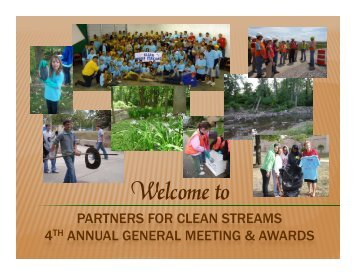 2010 Annual General Meeting - Annual Report and Awards