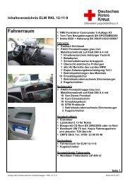 Inhalt ELW 12-11-9 - DRK Leopoldshöhe