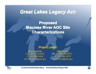 GLLA - Maumee & Swan Characterization Projects - Partners for ...