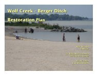 Wolf Creek Wetland Project - Partners for Clean Streams