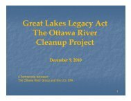GLLA - Ottawa River Remediation Project Completed - Partners for ...