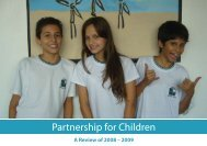 A Review of 2008 – 2009 - Partnership for Children