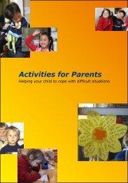 Activities for Parents - Partnership for Children