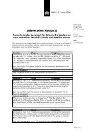 Nota van Inlichtingen, versie II - Partners voor Water