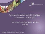 in Ethiopia - Partners voor Water