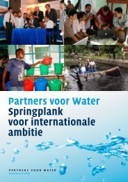 Brochure programma Partners voor Water