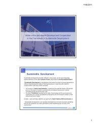 Sustainable Development - Partners voor Water