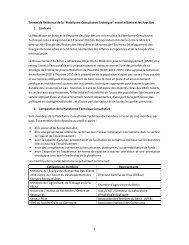 TdR Plateforme Eau Bénin Pays Bas Version acceptée