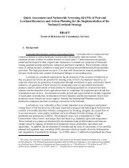 Quick Assessment and Nationwide Screening (QANS) of Peat and ...