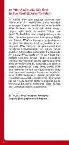 Tarifeler ve Hizmetler Kılavuzu Tarifeler ve ... - Partnervertrieb.de - Page 2
