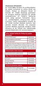 Tarifeler ve Hizmetler Kılavuzu Tarifeler ve ... - Partnervertrieb.de - Page 6