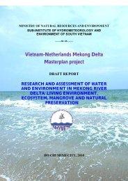 Vietnam-Netherlands Mekong Delta Masterplan project