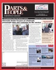 Chevrolet dealer focuses on wholesale powertrain ... - Parts & People