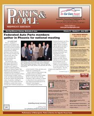 Federated Auto Parts members gather in Phoenix ... - Parts & People