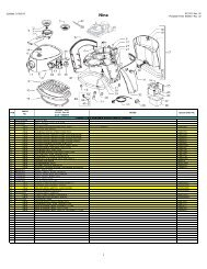 Saeco Replacement Parts STEAM KNOB FOR NINA NINA BAR NINA CAPPUCCINO 11005799