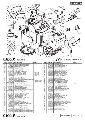 E74049 rev03 (Gaggia Sysncrony Compact).indd
