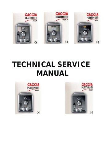 saeco vienna superautomatica manual pdf