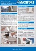 Montageanleitung - bei der Friedrich von Lien AG - Seite 3