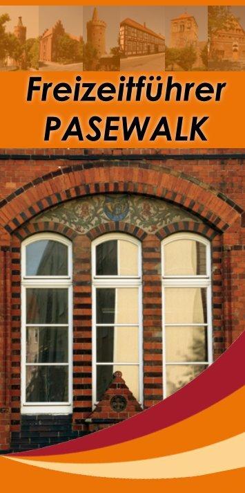 Freizeitführer PASEWALK - Stadt Pasewalk
