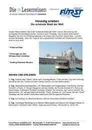 Venedig erleben Die schönste Stadt der Welt - Passauer Bistumsblatt
