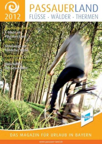 Magazin 2012 (PDF) - Passauer Land