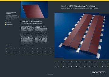 Brochure Schüco Oost-West Systeem - Saman Groep