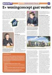 Energieneutraal bouwen - Bouwbedrijf EBU