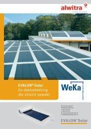 EVALON® Solar Dakbedekking - Passiefhuismarkt