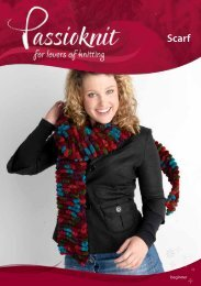 Scarf - Passioknit Knitting :: Patterns, Yarns and Needles