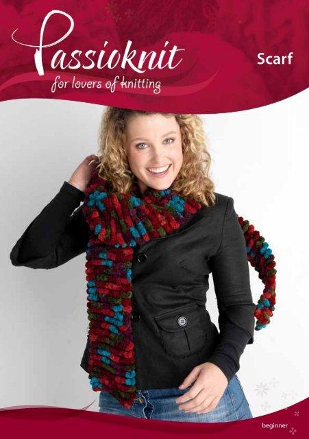 Scarf - Passioknit Knitting :: Patterns, Yarns and Needles