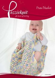 Pram Blanket - Passioknit Knitting :: Patterns, Yarns and Needles