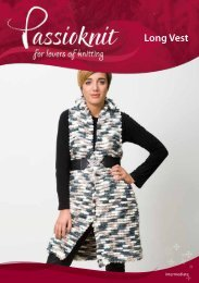 Long Vest - Passioknit Knitting :: Patterns, Yarns and Needles